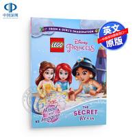 现货英文原版 乐高迪士尼公主:秘密房间 5岁以上 LEGO Disney Princess: The Secret Ro