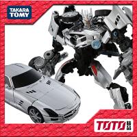 TAKARA 变形金刚玩具 电影3 11 联盟级 MB07 声波 金属色日版