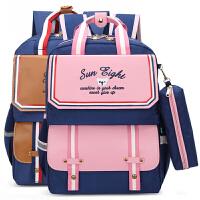 小学生书包男女生2-4-5三四五年级双肩包8-12周岁男孩背包