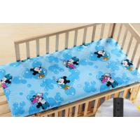 婴幼儿园床垫儿童垫子褥子床褥宝宝卡通被褥榻榻米垫被夏定做 湖蓝色 泡泡米奇