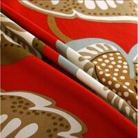 20172.4米宽幅纯棉帆布加厚 帆布棉麻凉席 粗布床单全棉沙发布料 桔红色