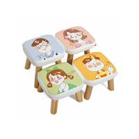 [下单有礼]一凳 简约实木凳子书凳换鞋搁脚凳 亲子卡通读绘本创意板凳沙发茶几餐边凳儿童凳