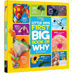 National Geographic 美国国家地理 Little Kids First Big Book of Wh