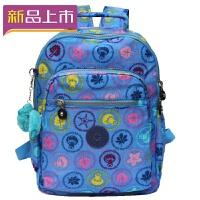 2018尼龙双肩包学生书包女包背包电脑包 小号防水旅行包帆布包休闲包