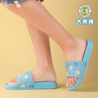 大黄蜂童鞋 女童一字拖儿童居家防滑拖鞋2020新款小女孩可爱凉拖