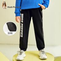 【裸价直降:99元】暇步士童装时尚男童一体绒长裤冬季新款休闲运动裤