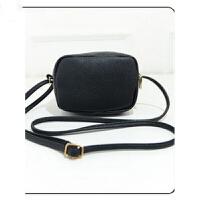 小包单肩斜跨包包韩版时尚潮流女包 黑色