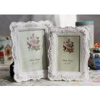 6寸7寸8寸10寸白色相框组合玫瑰相架照片框摆台