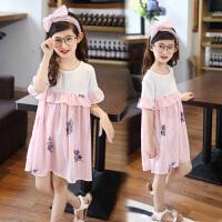 女童连衣裙新款 夏季童装中大童公主裙儿童裙子小女孩裙夏装