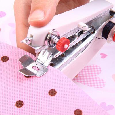 迷你手动缝纫机便携式创意小巧缝纫机操作简单