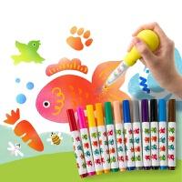 当当自营美乐JoanMiro 儿童趣味喷喷笔套装 12色水彩笔