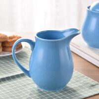 【支持礼品卡】彩色糖罐奶壶拉花专用壶创意咖啡具配套小奶壶糖盅套装陶瓷 jq7