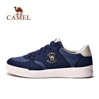 【每满100减50】骆驼运动鞋 女 时尚防滑平衡透气板鞋系带女款板鞋滑板鞋女