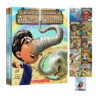 英文原版科普绘本 What If You Had Animal Ears/Teeth/Hair/Feet/Eyes/Nose儿童科普绘本8册合售 趣味故事图画书 学乐Scholastic