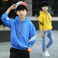 男童卫衣新款春秋装儿童连帽中大童春款小男孩运动上衣