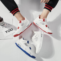 2018春季新款白色运动鞋男士网布透气小白鞋气垫休闲跑步鞋男鞋子ZK003JQ