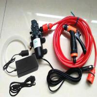 小型12V车载洗车器 便携高压电动汽车洗车机车用 自助家用洗车泵SN2258