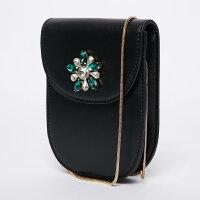 【1件4折到手价:50】美特斯邦威女钻石装饰手机包韩版时尚潮流百搭