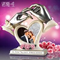 家居饰品摆件创意结婚礼品实用新婚订婚周年纪念日礼物送老婆闺蜜