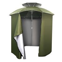 20180517234259669钓鱼伞户外2.2米万向围裙布折叠垂防晒风雨遮阳渔具用品