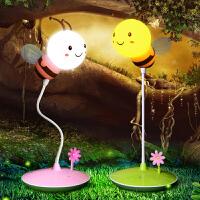 【支持礼品卡支付】婴儿喂奶调光护眼充电led床头台灯创意可爱新生儿哺乳插电小夜灯
