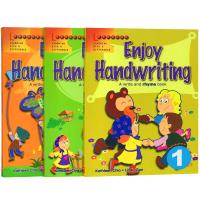 学乐畅享英语书写练习册3册 英文原版 Scholastic Enjoy Handwriting 趣味英语书法字帖 小学生英文书写训练 进口书籍 正版英文版
