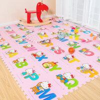 环保儿童卡通泡沫地垫数字字母KT猫拼图游戏爬行垫婴儿拼接爬爬垫