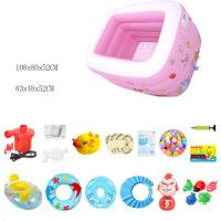 婴儿游泳池充气加厚保温家庭幼儿童宝宝游泳桶家用新生儿洗澡浴盆