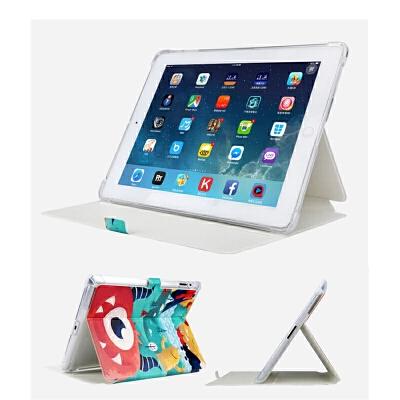 老款ipad2保护套苹果ipad4平板a1395爱派3硅胶a1458卡通防摔A1416