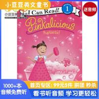 #原版英文童书 Pinkalicious: 粉红控系列之 Puptastic! [4-8岁]