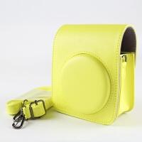 正版 富士拍立得MINI70相机包 迷你70相机相机保护套外壳皮包 荧光黄 70皮包CUL