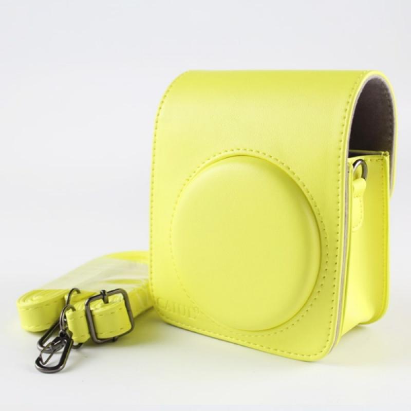 正版 富士拍立得MINI70相机包 迷你70相机相机保护套外壳皮包 荧光黄 70皮包CUL 发货周期:一般在付款后2-90天左右发货,具体发货时间请以与客服协商的时间为准