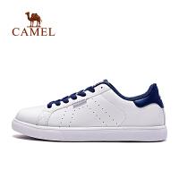 骆驼牌 运动板鞋 男款休闲鞋轻便透气时尚舒适小白鞋