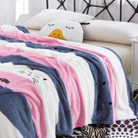 绗缝床盖三件套天鹅绒夹棉全棉床单毛毯床垫夏凉被子纯棉空调被N