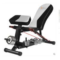 户外仰卧起坐健身器材器家用腹肌仰卧板多功能哑铃凳仰卧起坐折叠收腹