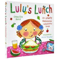 现货英文原版 Lulu's Lunch 露露的午餐 精装操作书 Lulus系列 幼儿启蒙认知
