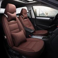 布艺汽车座套专车专用全包围座垫 18新款雷诺科雷嘉科雷傲梅甘娜卡缤定做亚麻座椅套车SN6588