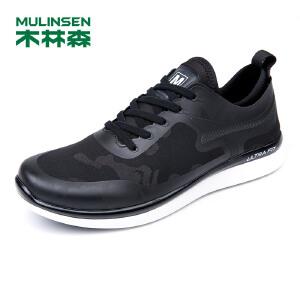 木林森男鞋 透气轻质舒适运动跑鞋休闲鞋  05377617