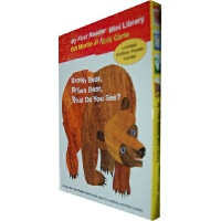 Bear Book Readers Boxed Set 你看到了什么?系列套装(含四本大开本Eric Carle绘本)