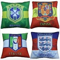 18世界杯法国足球德国抱枕西班牙意大利阿根廷枕头头靠枕球迷用品