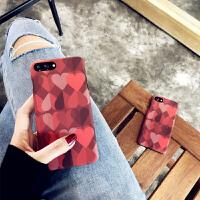 哑光质感浮雕爱心 苹果6手机壳iPhone7plus/8/6s/X创意个性套女款苹果X/Xs/Max 6/6s 4.7
