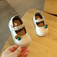 春秋季童鞋女童0一3岁小童夏款女宝宝鞋子单鞋透气软底婴儿鞋1-2