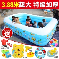 20180516125354297超大号家用充气游泳池家庭宝宝小孩婴幼儿童海洋球加厚戏水池