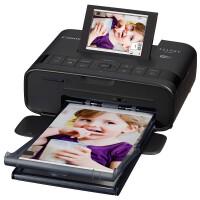 佳能(Canon)CP1300便携式手机照片打印机家用小型迷你无线彩色相片冲印机旅行出游替代1200黑色