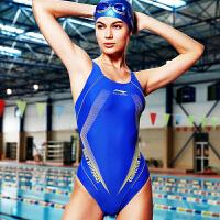 李宁泳衣LSLL026 成人连体三角专业竞赛泳 塑身泳衣 李宁泳装