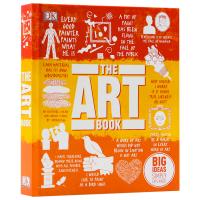 DK艺术百科 英文原版 The Art Book DK人类的思想百科丛书 全彩铜版纸 精装进口英语书 英文版原版书籍