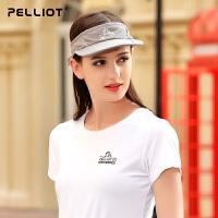 【折扣风暴】法国PELLIOT棒球帽男女 户外防晒帽夏季跑步骑行遮阳帽透气运动帽