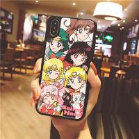 美少女战士iphoneX手机壳XSMAX苹果7plus卡通6s全包硅胶8少女心XR 6/6S 美少女战士全家福