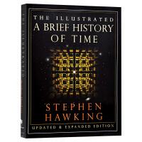 时间简史 插图版 英文原版 The Illustrated A Brief History of Time 宇宙科普读