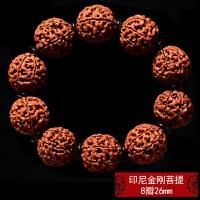 印尼大金��菩提子手串6六瓣7七瓣8八瓣爆肉���y佛珠手�男士